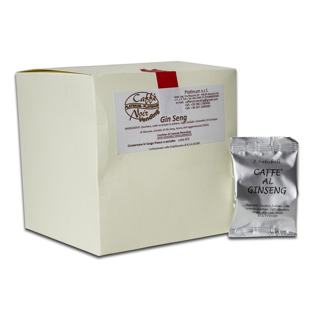 Confezione di Caffè al Ginseng in capsule Caffè Noir