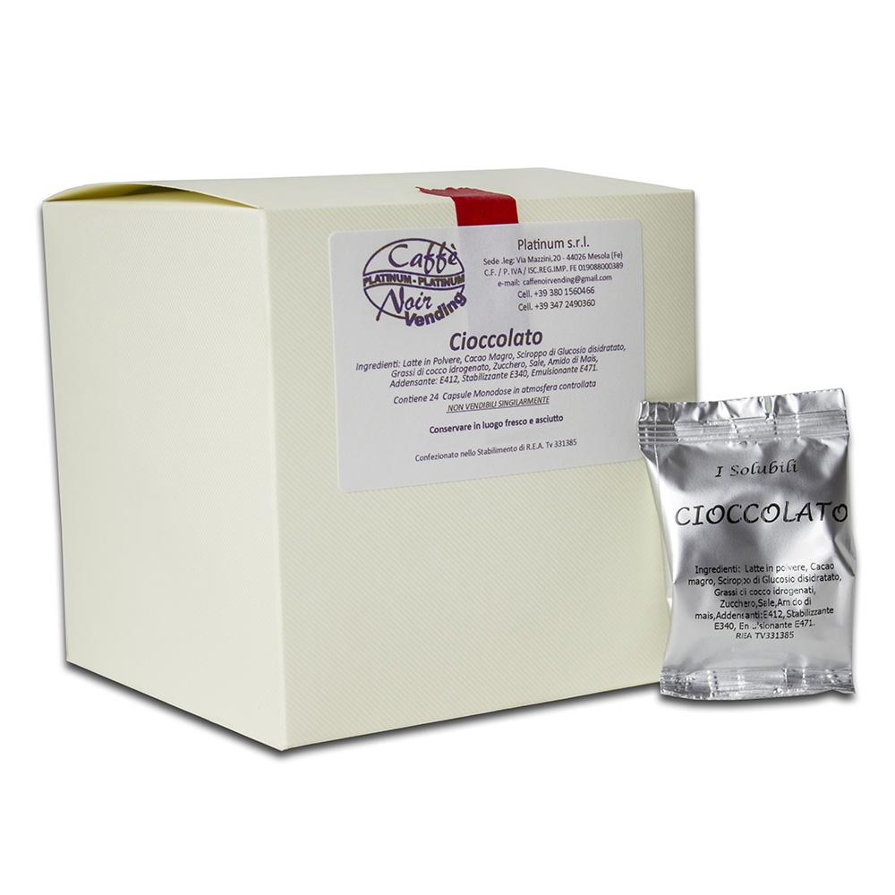 Confezione di Cioccolata in capsule Caffè Noir