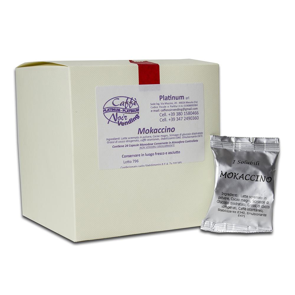 Confezione di Mokaccino in capsule Caffè Noir