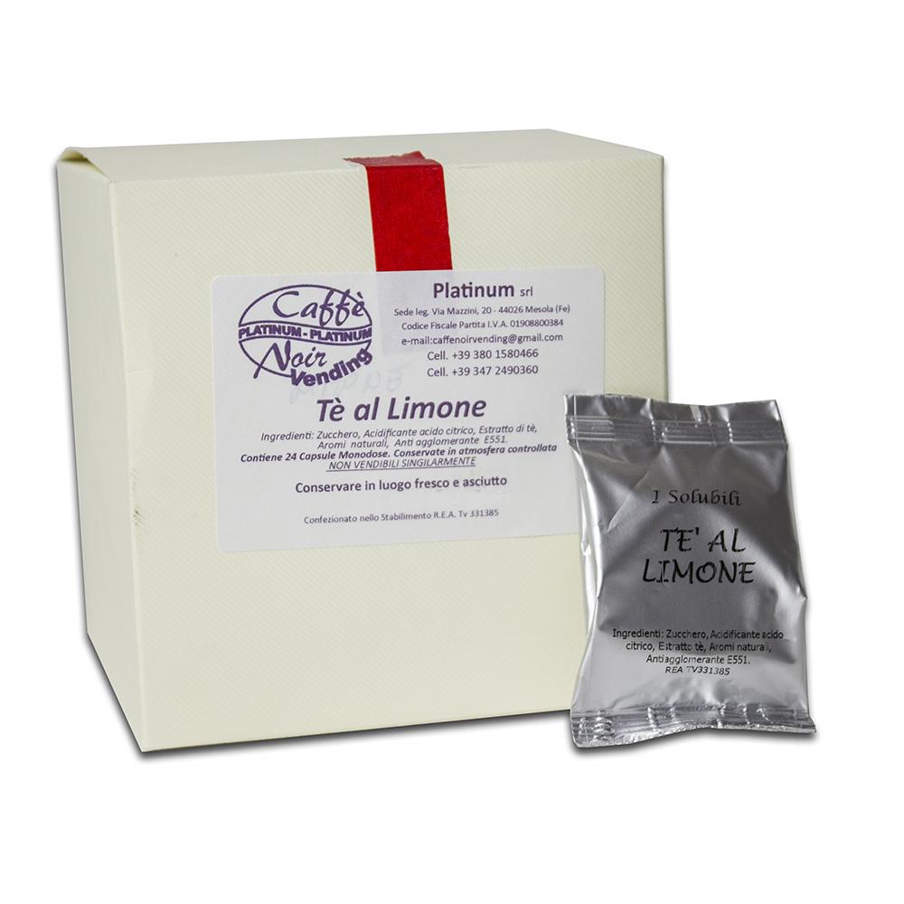 Confezione di Tè al Limone in capsule Caffè Noir