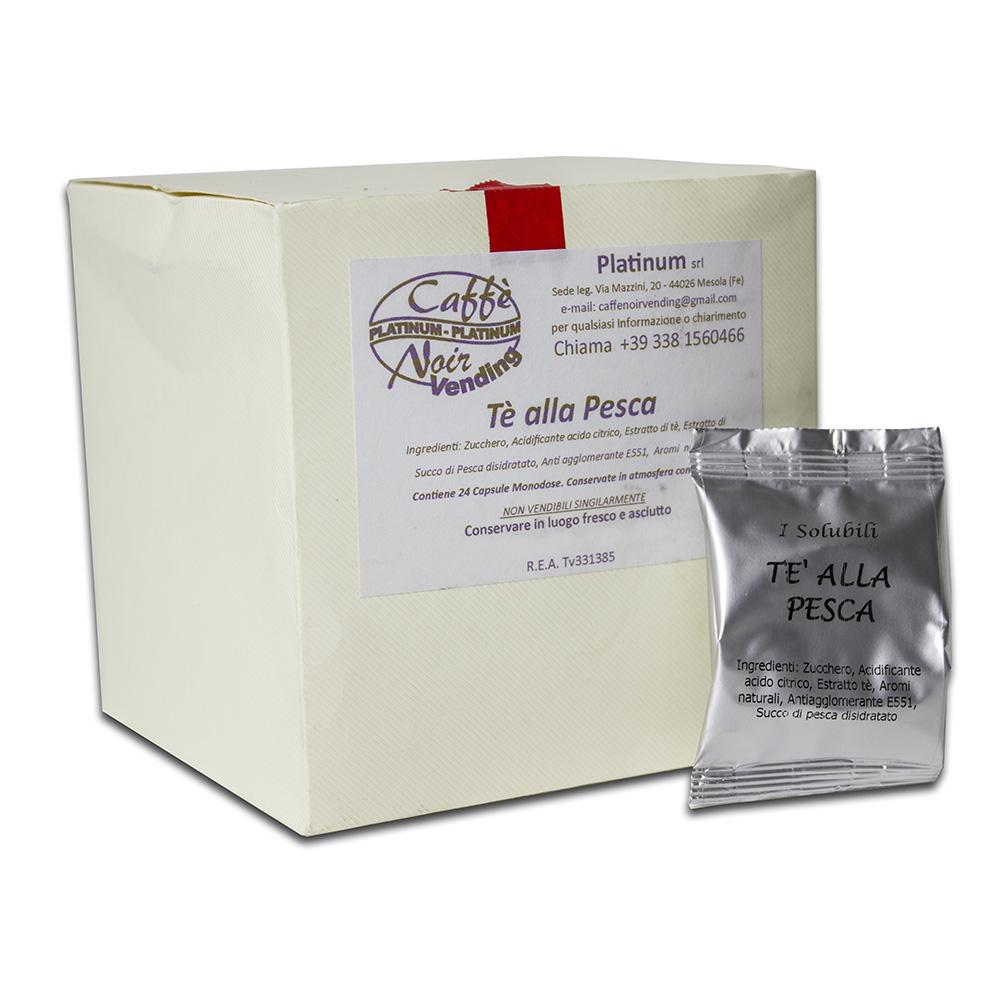 Confezione di Tè alla Pesca in capsule Caffè Noir