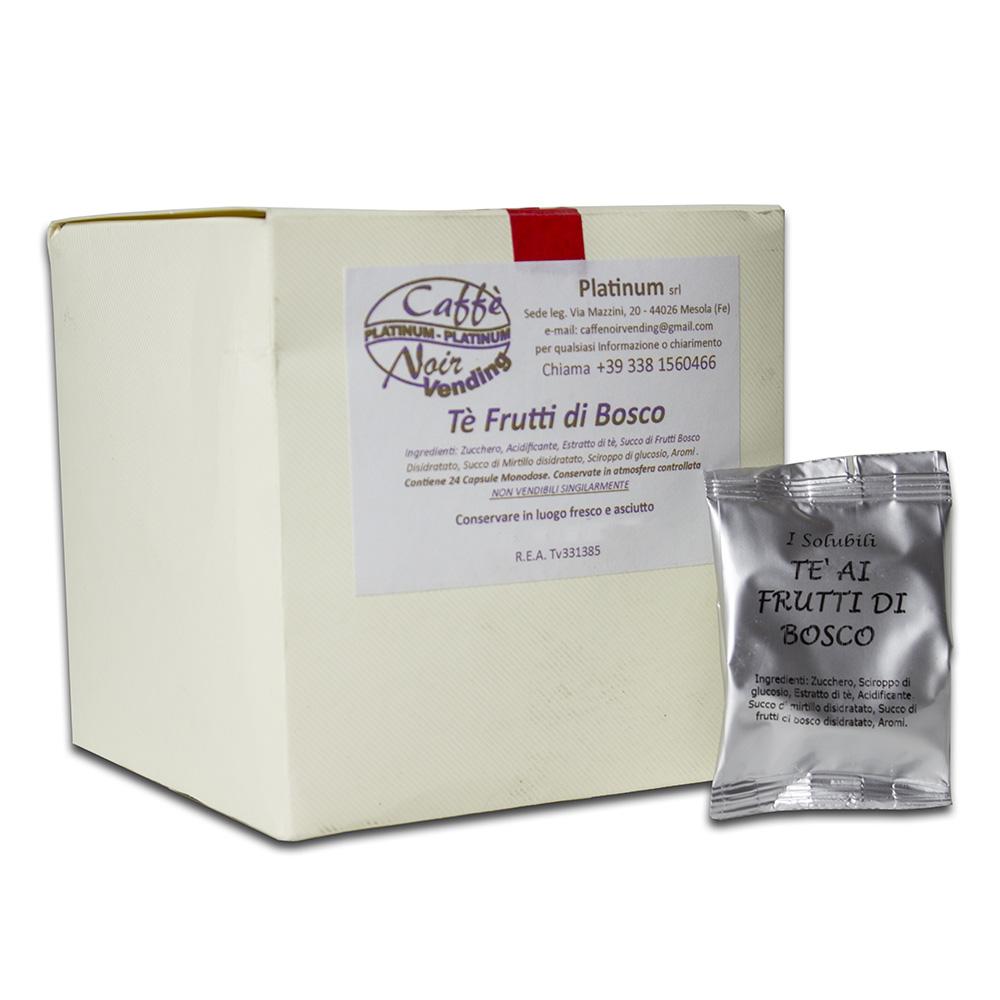Confezione di Tè ai Frutti di Bosco in capsule Caffè Noir