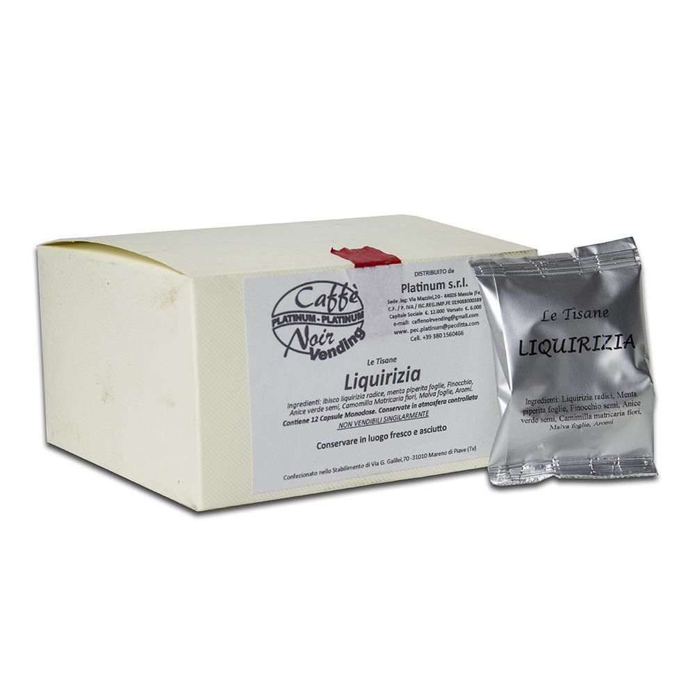 Confezione di Tisana alla Liquirizia in capsule Caffè Noir
