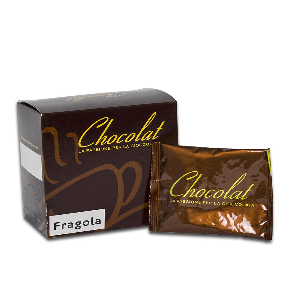 Confezione di Cioccolata alla Fragola solubile Caffè Noir